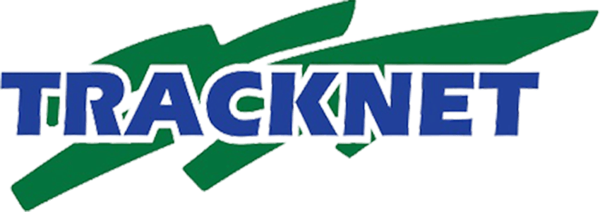 Tracknet blue and green logo