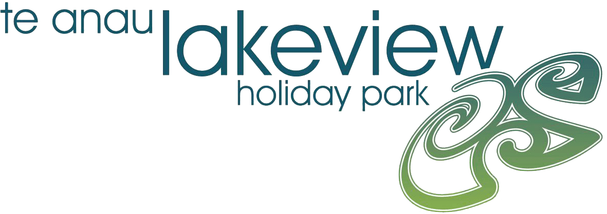 Te Anau Lakeview Holiday Park blue and green Logo