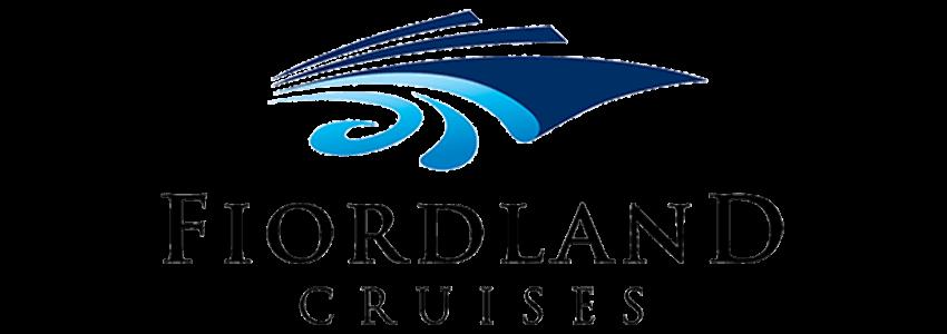 Fiordland Cruises blue and black logo